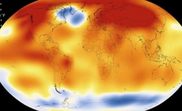 NASA trage un semnal de ALARMĂ: Temperatura Pământului în 2017, a doua cea mai RIDICATĂ din 1880