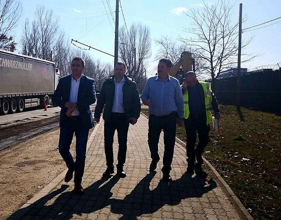 Noi reparații pe străzile din municipiul Târgoviște