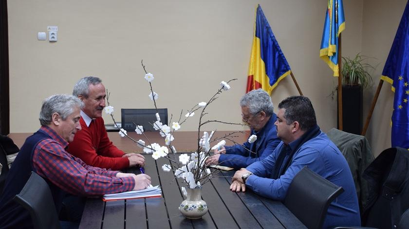 Președintele CJ DÂMBOVIȚA, vizită de lucru în zona de nord a judeţului