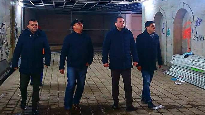 Pasajul pietonal din zona Tribunalului, luat în vizor de primarul Cristian Stan