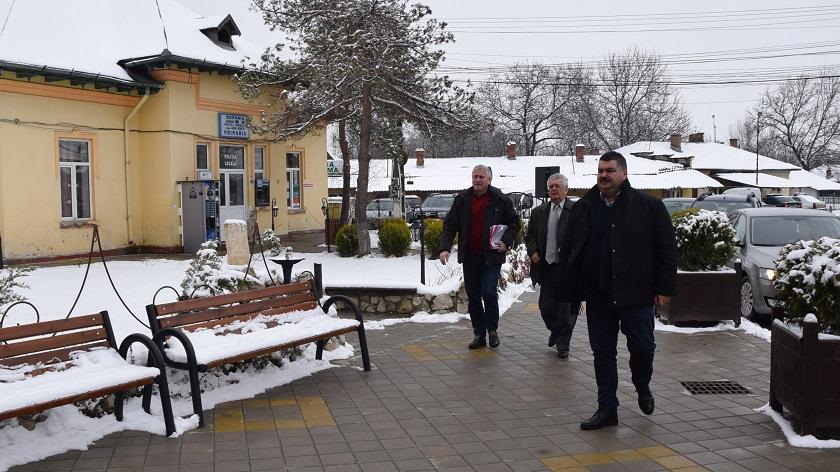 Preşedintele Consiliului Judeţean Dâmboviţa a continuat vizitele de lucru