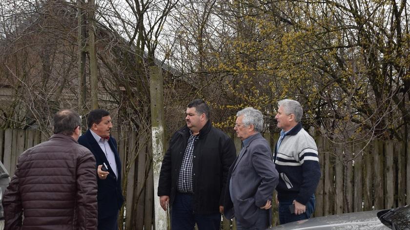 Preşedintele Consiliului Judeţean Dâmboviţa a continuat vizitele de lucru în teritoriu