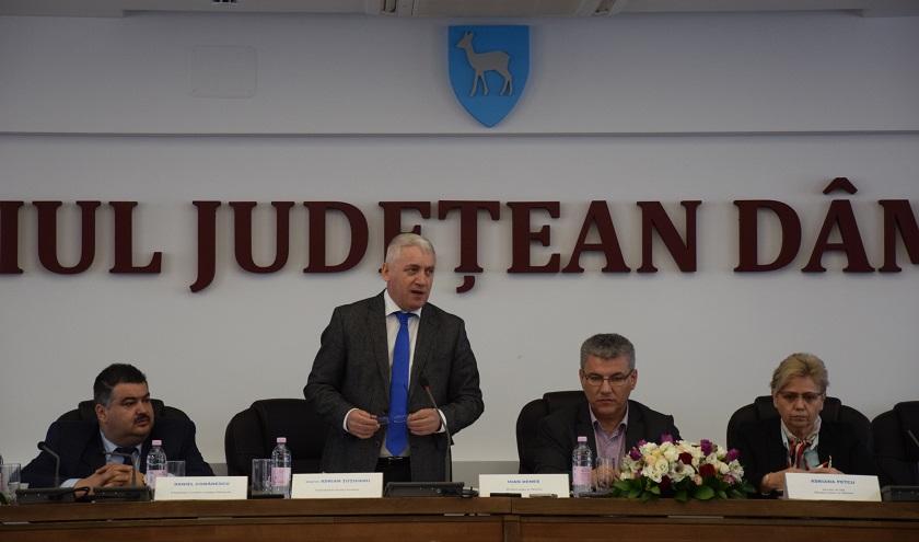 Ministrul Apelor şi Pădurilor, vizită în județul Dâmbovița