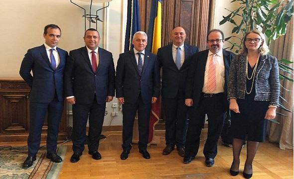 Adrian Țuțuianu a primit vizita delegației companiei Arctic