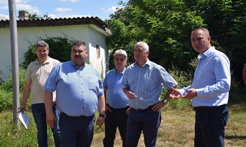 Vizită de lucru la obiectivele de investiții din județul Dâmbovița