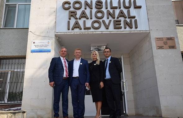 Consiliul Județean Dâmbovița, alături de locuitorii din Raioanele Ialoveni și Strășeni, cu ocazia manifestărilor dedicate Centenarului Marii Uniri