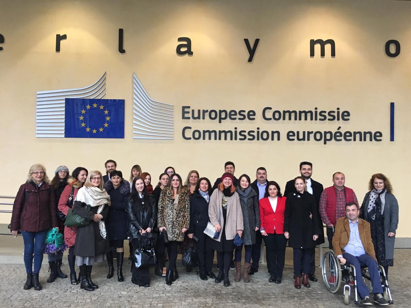 CJD: Vizită de studiu la Bruxelles, organizată de Reprezentanța Comisiei Europene