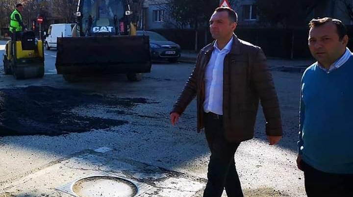 Primarul Cristian Stan a efectuat o vizită în teren