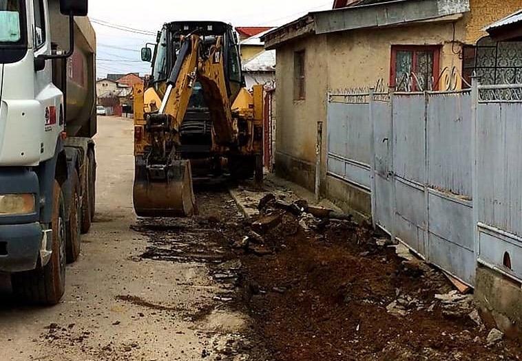 Primar Targoviste: Au debutat primele lucrări la strada UDREA Bălcescu