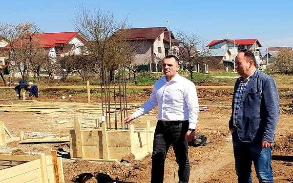 Cristian Stan: au inceput si lucrarile de construire a noii gradinite din cartierul Sagricom