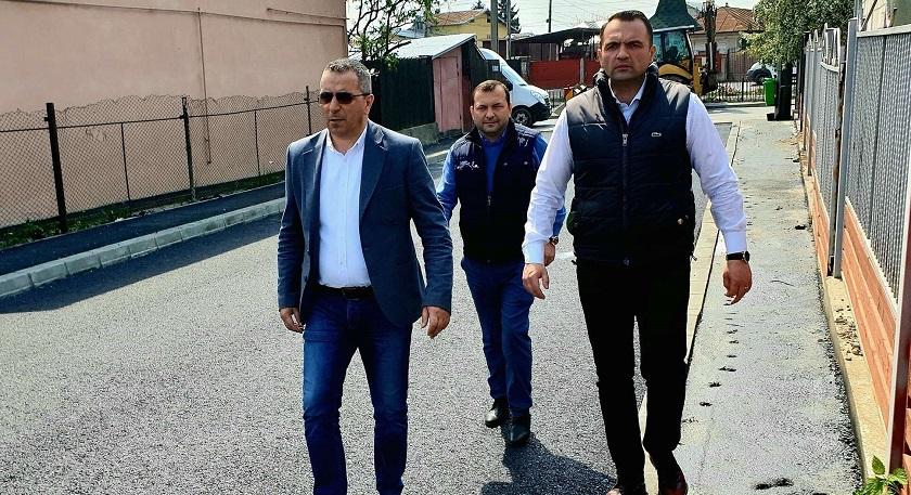 Primar Cristi Stan: Start asfaltare și pe strada Udrea Bălcescu