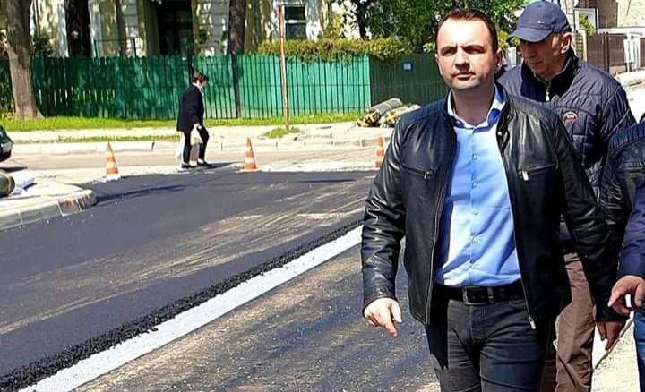 Cristi Stan, primar Târgoviște: Se toarnă asfalt pe strada Nicolae Filipescu