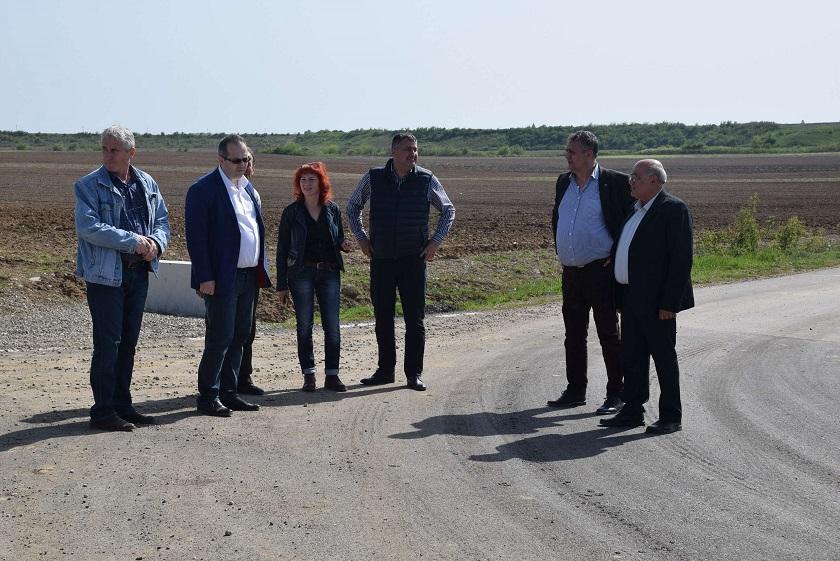 Alexandru Oprea, președintele CJD, continuă deplasările pe teren