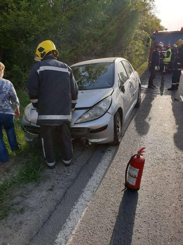 Accident pe drumul național 72, la Mija
