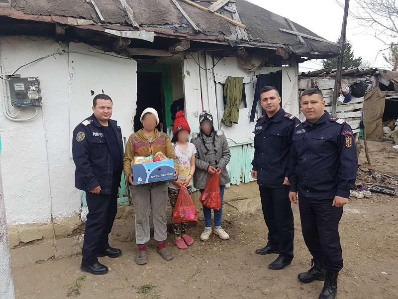 Acţiune umanitară a pompierilor târgovişteni
