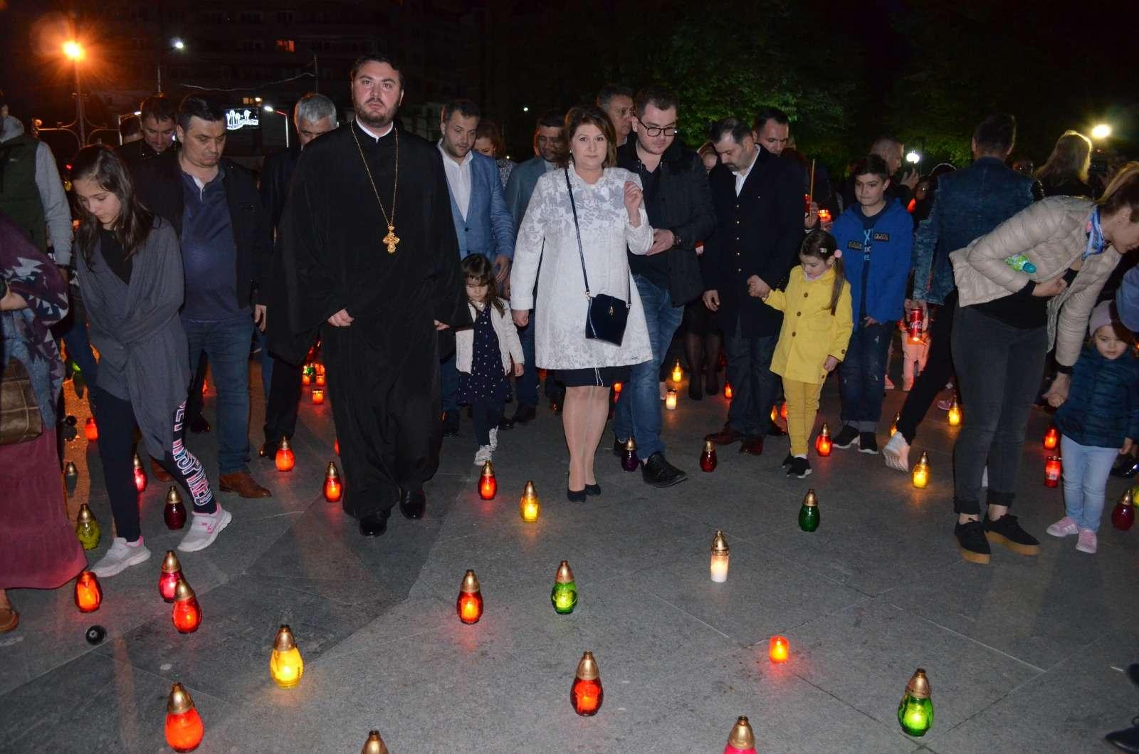 Rovana Plumb alături de dâmbovițeni la Calea Luminii