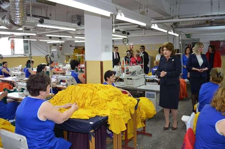 Alegeri europarlamentare: Rovana Plumb a vizitat mai multe fabrici din Călărași