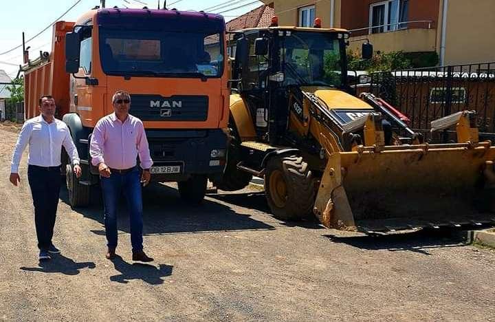 Cristi Stan, primar Târgoviște: A debutat și proiectul de modernizare a străzii Herta