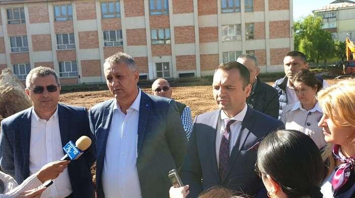 S-a dat startul lucrărilor de reabilitarea la Școala nr. 13 din Târgoviște