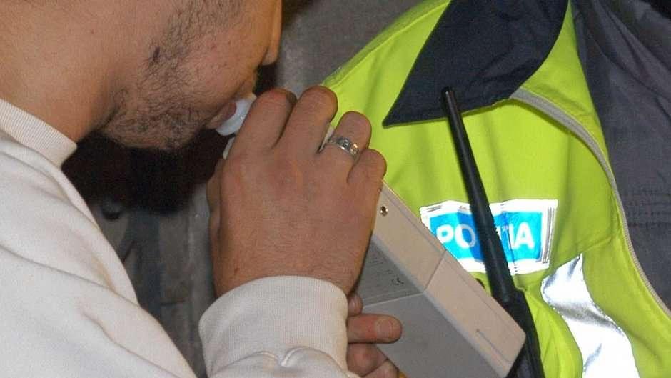 Tânăr prins de politisti băut la volan