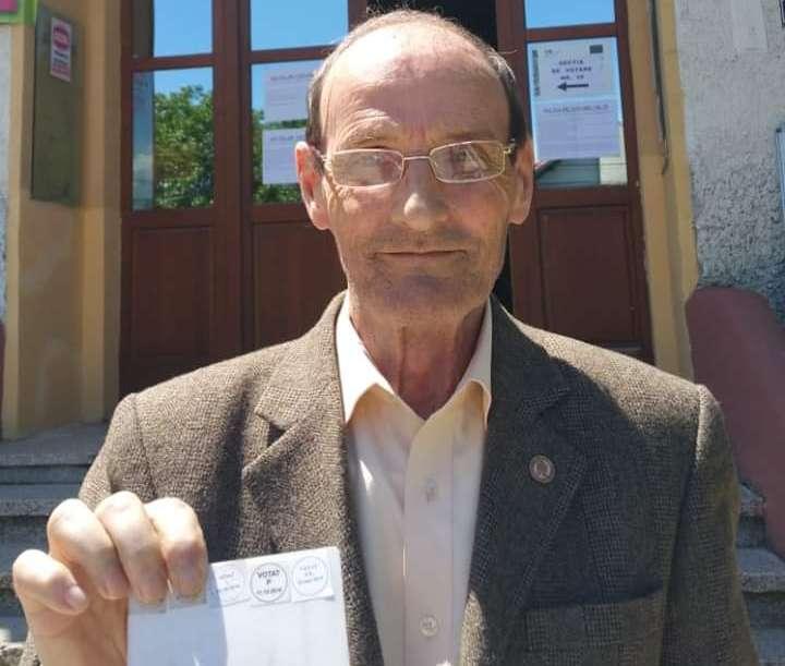Deputat Dumitru Lupescu: Mi-am exercitat dreptul la vot!