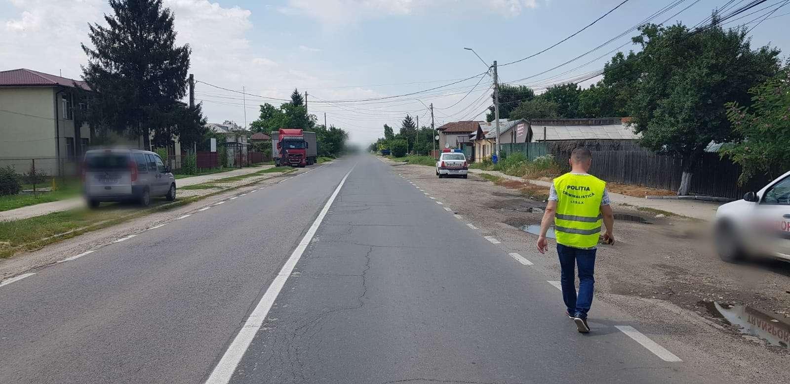 Accident pe Drumul Național 7, la Titu Târg