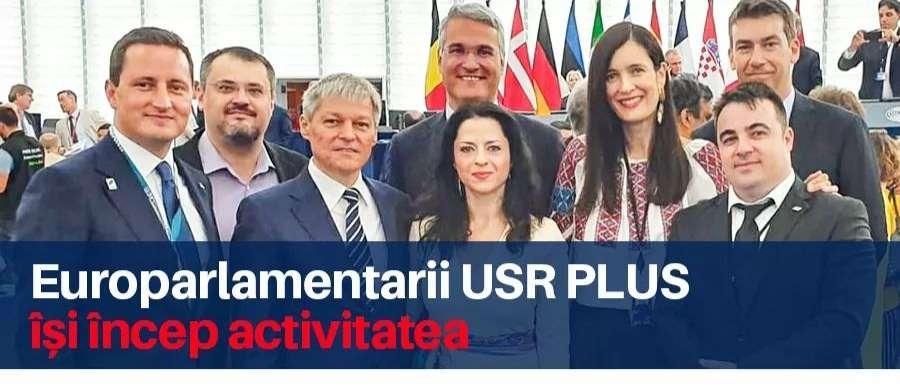 Europarlamentarii Alianței 2020 USR PLUS își încep activitatea