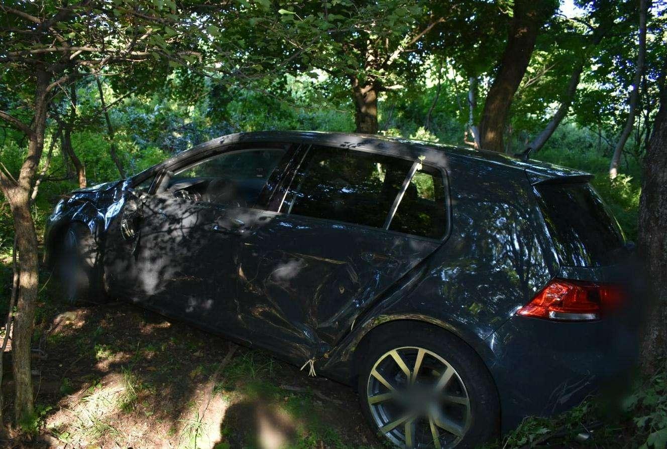 Accident pe Aleea Mănăstirii din Târgoviște! O persoană a fost rănită grav!