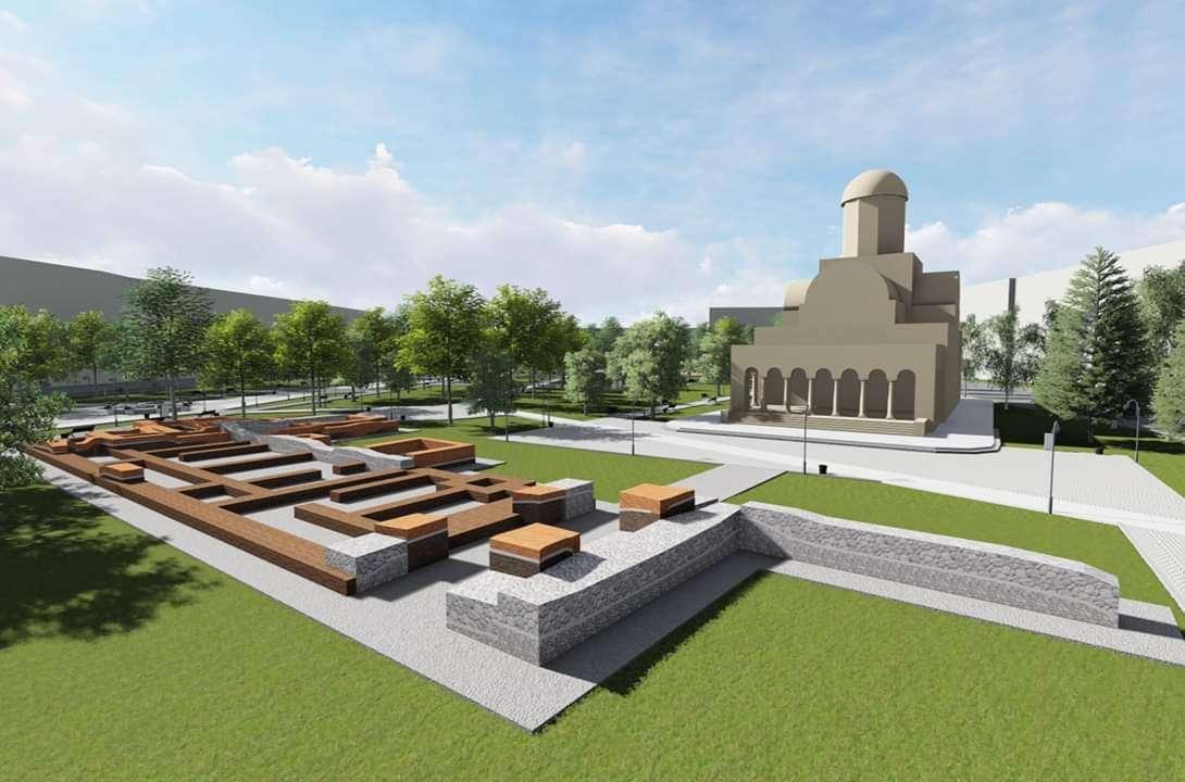 Parcul Mitropoliei din Târgoviște intră în reabilitare