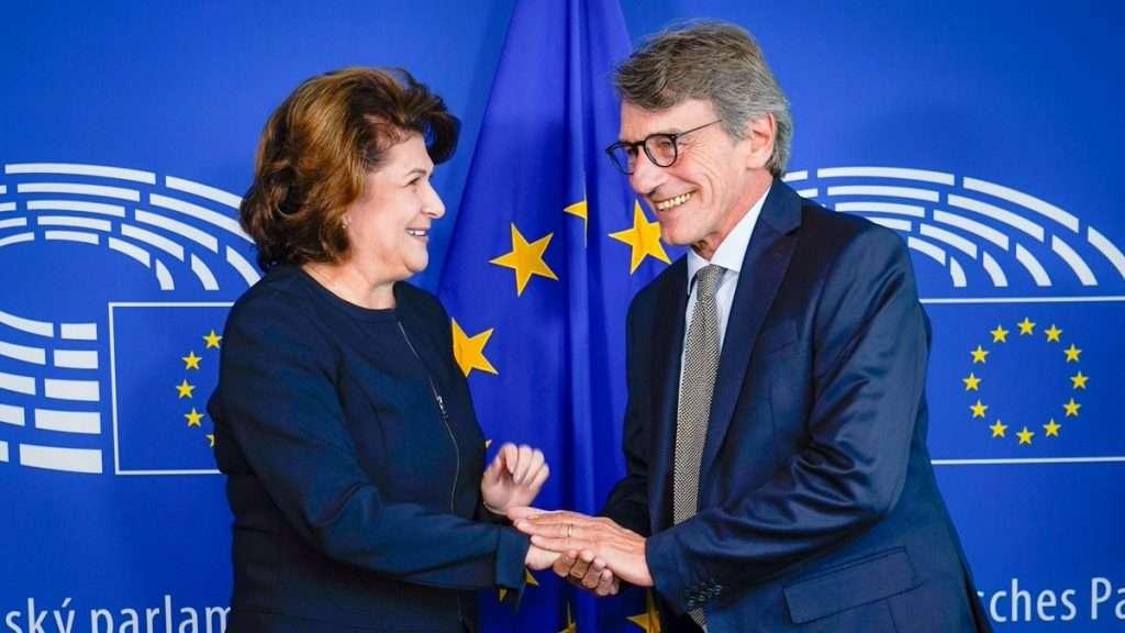 Rovana Plumb, întrevedere cu președintele Parlamentului European