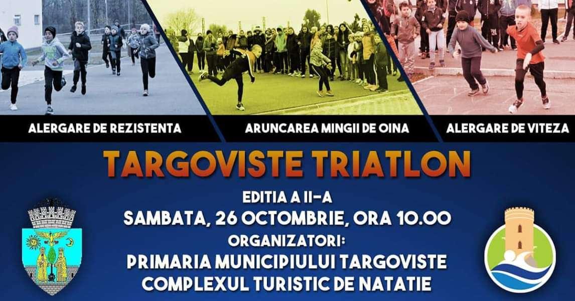 Târgoviște Triatlon revine la Complexul Turistic de Natație