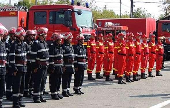 ZIUA NAŢIONALĂ A ROMÂNIEI sărbătorită de pompierii dâmboviţeni