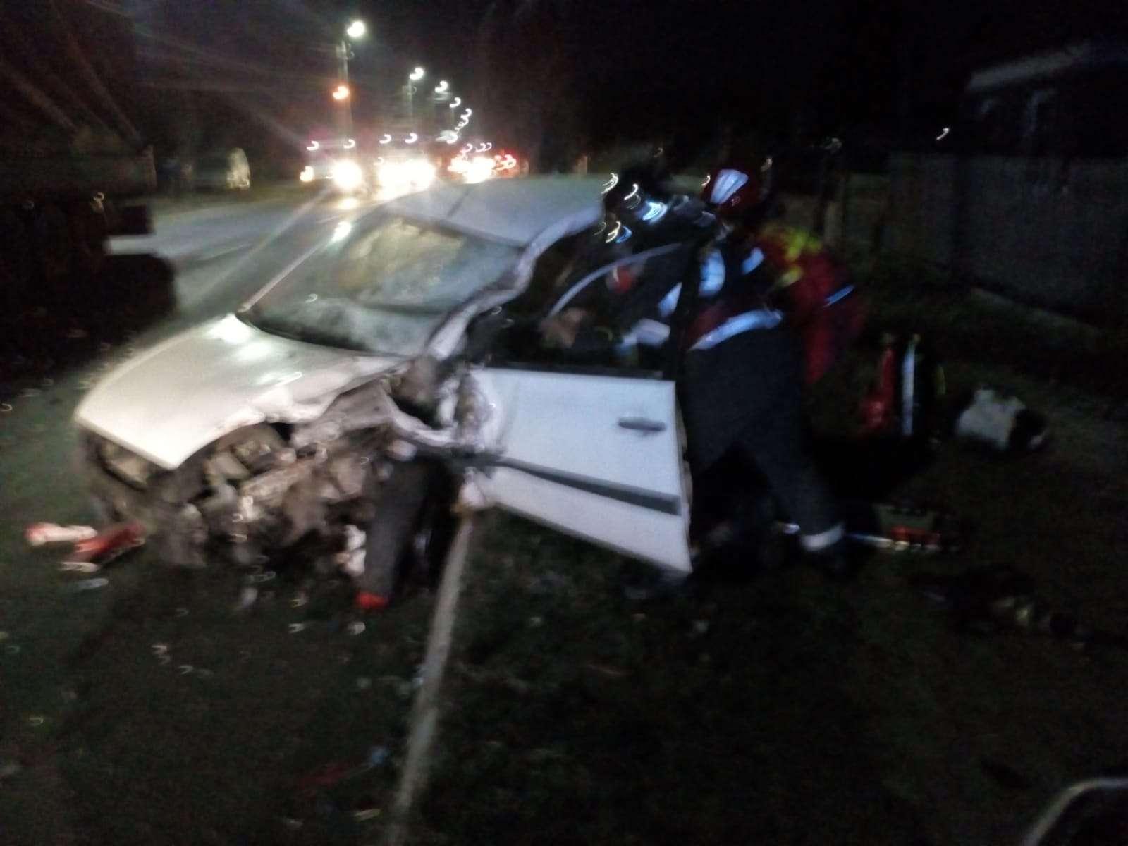 Accident grav pe Drumul Național 71