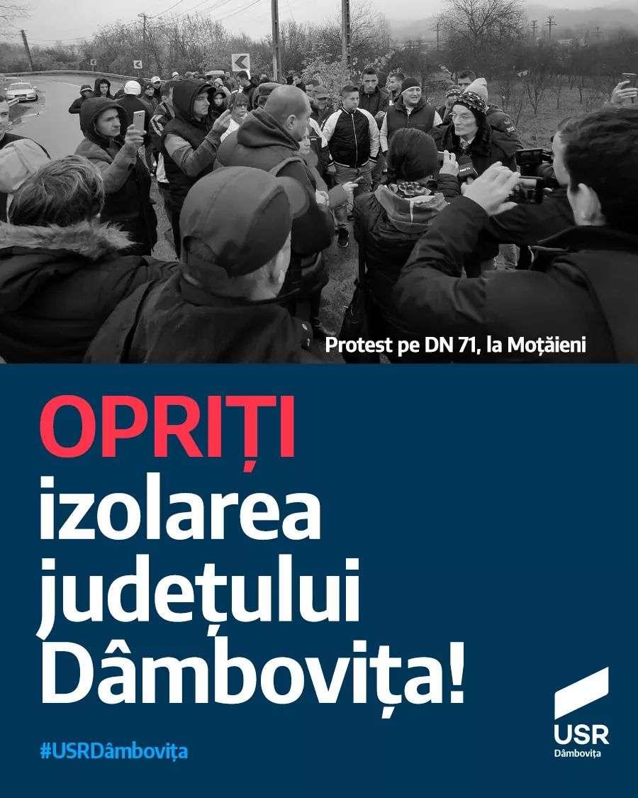 Deputat Dumitru Lupescu: Opriți izolarea județului Dâmbovița
